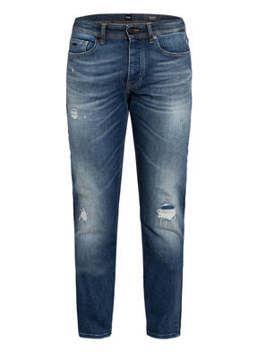 BOSS Destroyed Jeans TABER Tapered Fit