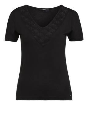 tigha T-Shirt mit Spitzeneinsatz