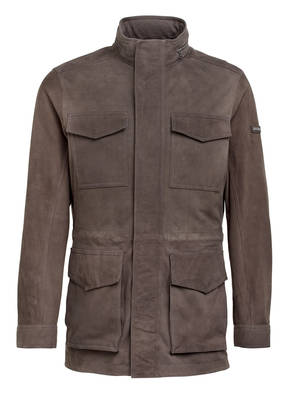 HACKETT LONDON 2-in-1-Velourslederjacke