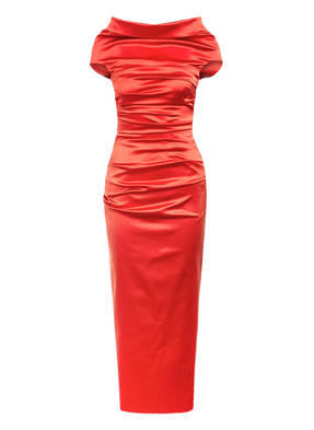 TALBOT RUNHOF Off-Shoulder-Kleid ROSSO14