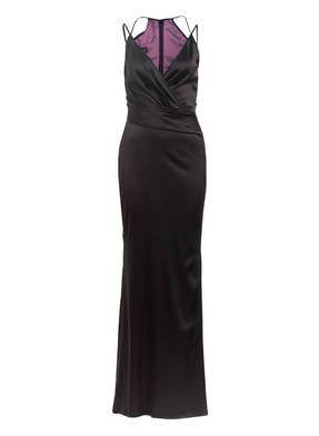 TALBOT RUNHOF Satin-Abendkleid BONEY 1