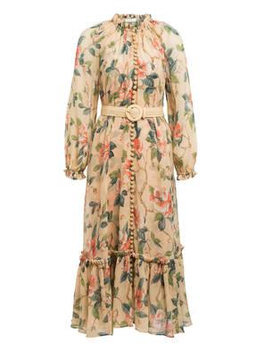 ZIMMERMANN Kleid KIRRA mit abnehmbarem Gürtel