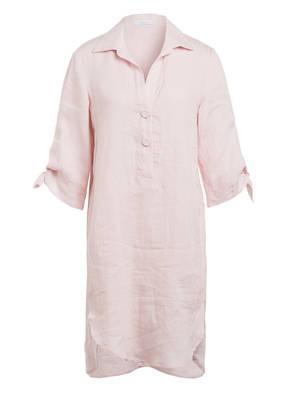 RIANI Hemdblusenkleid aus Leinen mit 3/4-Arm
