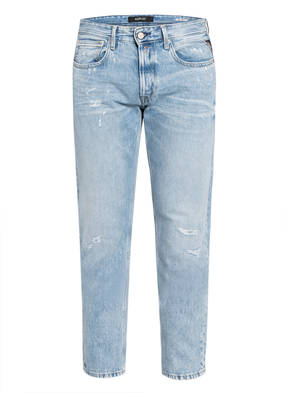 REPLAY Destroyed Jeans GROVER Tapered Fit