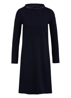 BARBARA SCHWARZER Kleid mit Schmucksteinbesatz