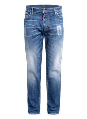 DSQUARED2 Destroyed Bootcut Jeans I LOVE D2 Extra Slim Fit