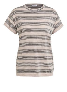 BRUNELLO CUCINELLI T-Shirt mit Glitzergarn
