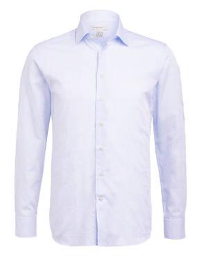 Blaue Benetroessere Daunenjacke mit Karomuster für Männer