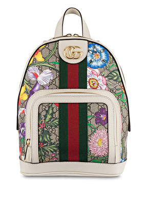 GUCCI Rucksack OPHIDIA GG FLORA SMALL