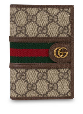 GUCCI Reisepass-Etui OPHIDIA GG