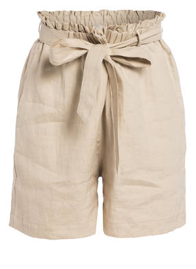 Mrs & HUGS Paperbag-Shorts aus Leinen