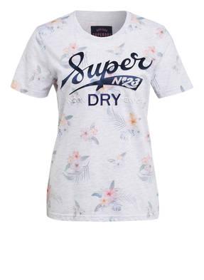 Superdry T-Shirt SUPER 23 TROPICAL