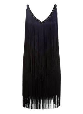Phase Eight Kleid MISSY mit Schmucksteinbesatz und Fransen