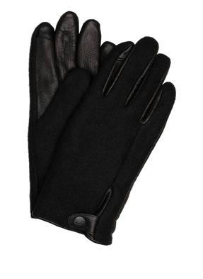 UGG Handschuhe mit Leder und Touchscreen-Funktion