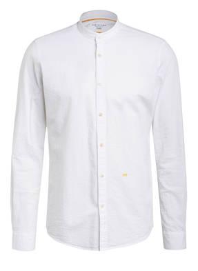NEW IN TOWN Hemd Extra Slim Fit mit Stehkragen