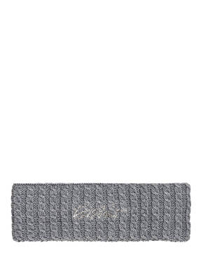 Eisbär Stirnband SELINA mit Strasssteinbesatz