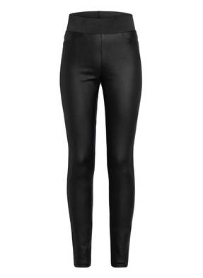 FREEQUENT Leggings SHANTAL in Lederoptik