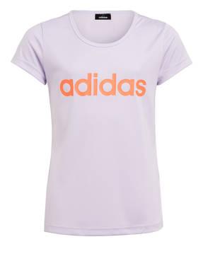 adidas T-Shirt CARDIO mit Mesh-Einsatz