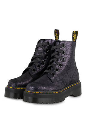 Dr. Martens Plateau-Schnürboots MOLLY