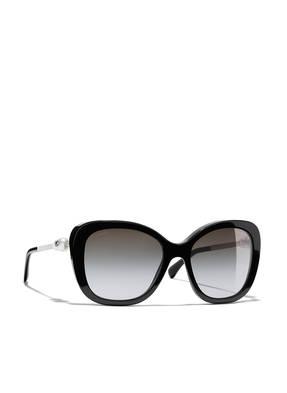 CHANEL Katzenaugenförmige Sonnenbrille