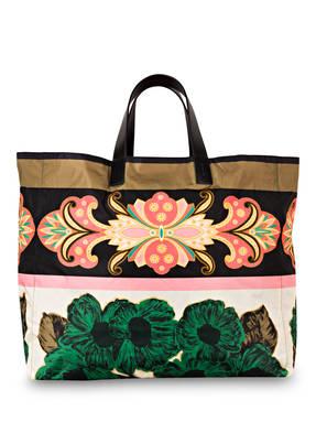 ETRO Strandtasche zum Wenden mit Pouch