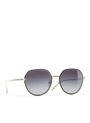 CHANEL Runde Sonnenbrille