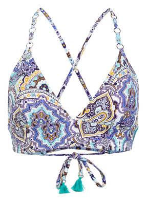 SEAFOLLY Bustier-Bikini-Top SUMMER CHINTZ