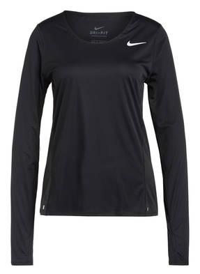 Nike Laufshirt mit Mesh-Einsätzen