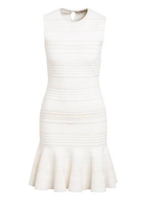ALEXANDER McQUEEN Kleid mit Volantbesatz