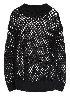 FABIANA FILIPPI Cashmere-Pullover mit Paillettenbesatz