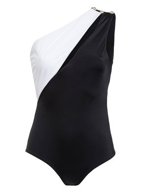 BALMAIN One-Shoulder-Badeanzug