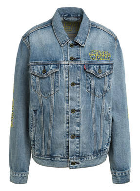 Levi's® Jeansjacke TRUCKER QUOTE