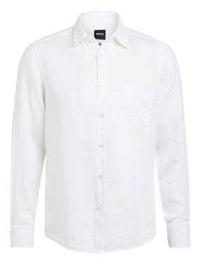 BOSS Leinenhemd RELEGANT Regular Fit