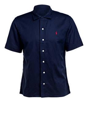 POLO RALPH LAUREN Halbarm-Hemd mit Leinen Custom Fit