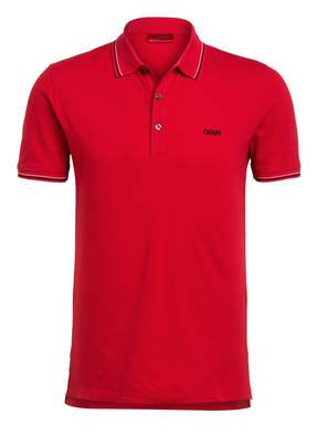 HUGO Piqué-Poloshirt DINOSO Slim Fit