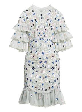needle & thread Kleid mit Paillettenbesatz