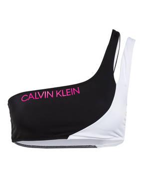 Calvin Klein One-Shoulder-Bikini-Top CK BLOCKING
