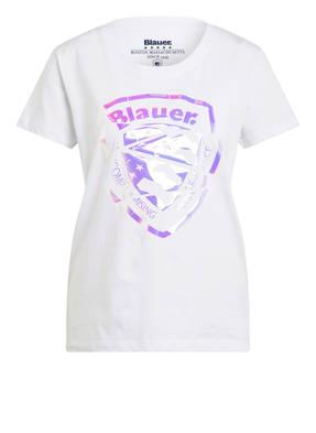 Blauer T-Shirt