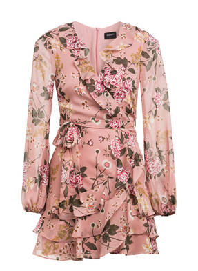 BARDOT Kleid FRILL in Wickeloptik