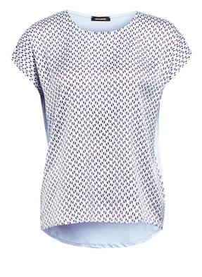 MORE & MORE Blusenshirt im Materialmix