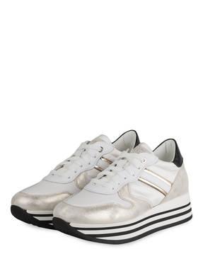 NO CLAIM Plateau-Sneaker BLUE S15