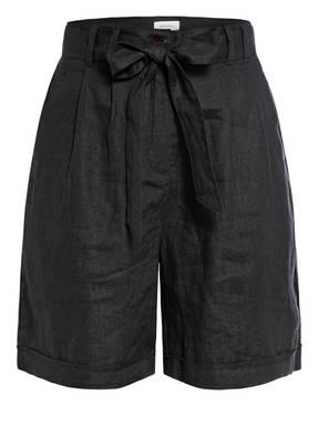 darling harbour Paperbag-Shorts aus Leinen