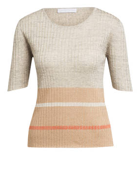 FABIANA FILIPPI Kurzarm-Pullover mit Glitzergarn