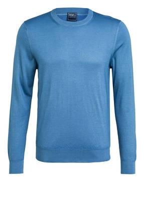 FEDELI Cashmere-Pullover mit Seide