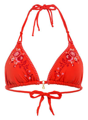 BANANA MOON Triangel-Bikini-Top NUCO FLASHBACK mit Stickereien