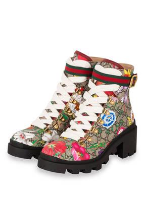 GUCCI Boots GG SUPREME FLORA