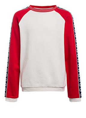 GUCCI Sweatshirt mit Galonstreifen