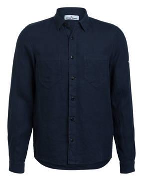 STONE ISLAND Leinenhemd Regular Fit