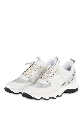DONNA CAROLINA Plateau-Sneaker mit Nietenbesatz