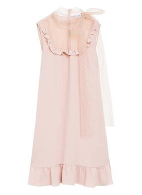 RED VALENTINO Kleid mit Volantbesatz